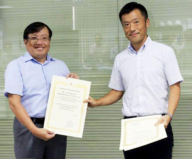 Mitsubishi Electric vinh danh cá nhân, tập thể đạt thành tích xuất sắc