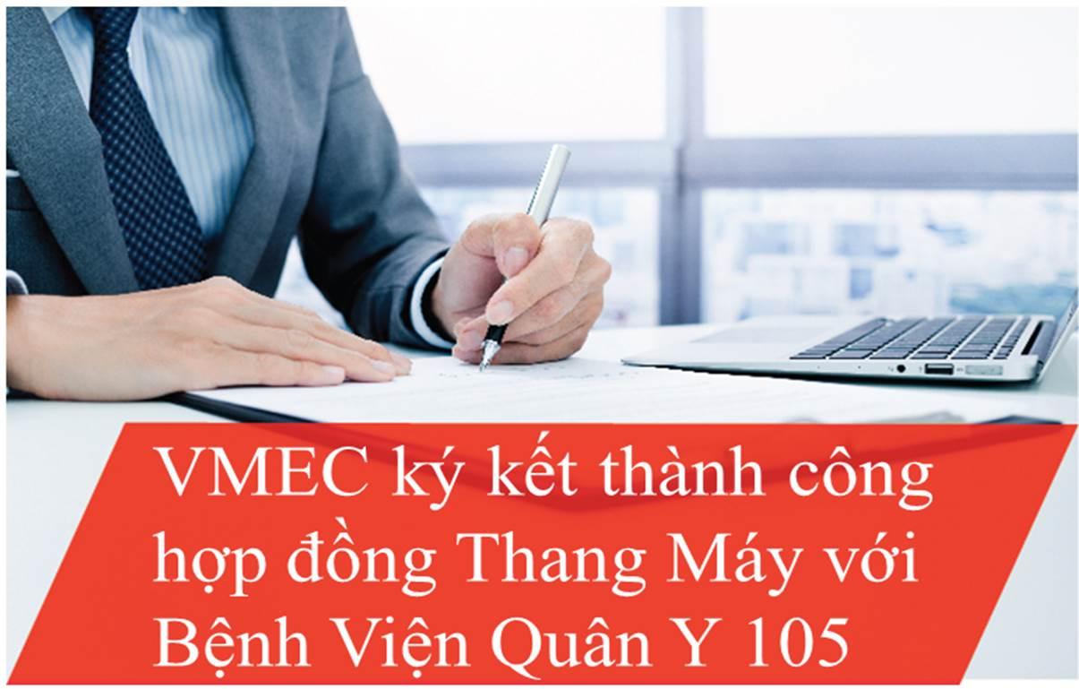 VMEC cung cấp thang máy cho Bệnh Viện Quân Y 105
