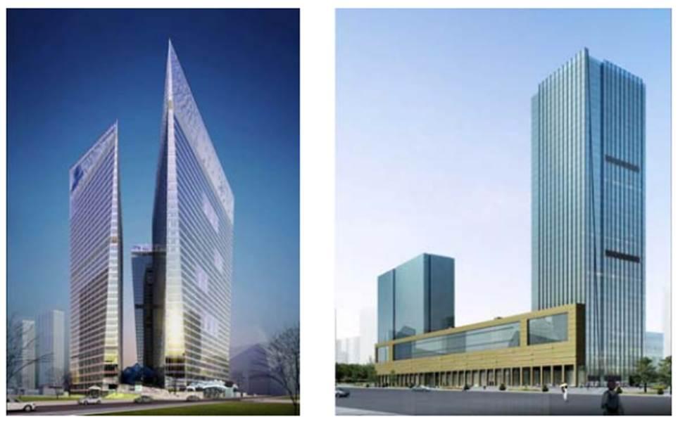 Lắp đặt thang máy tốc độ cao cho 02 tòa tháp tại Chengdu