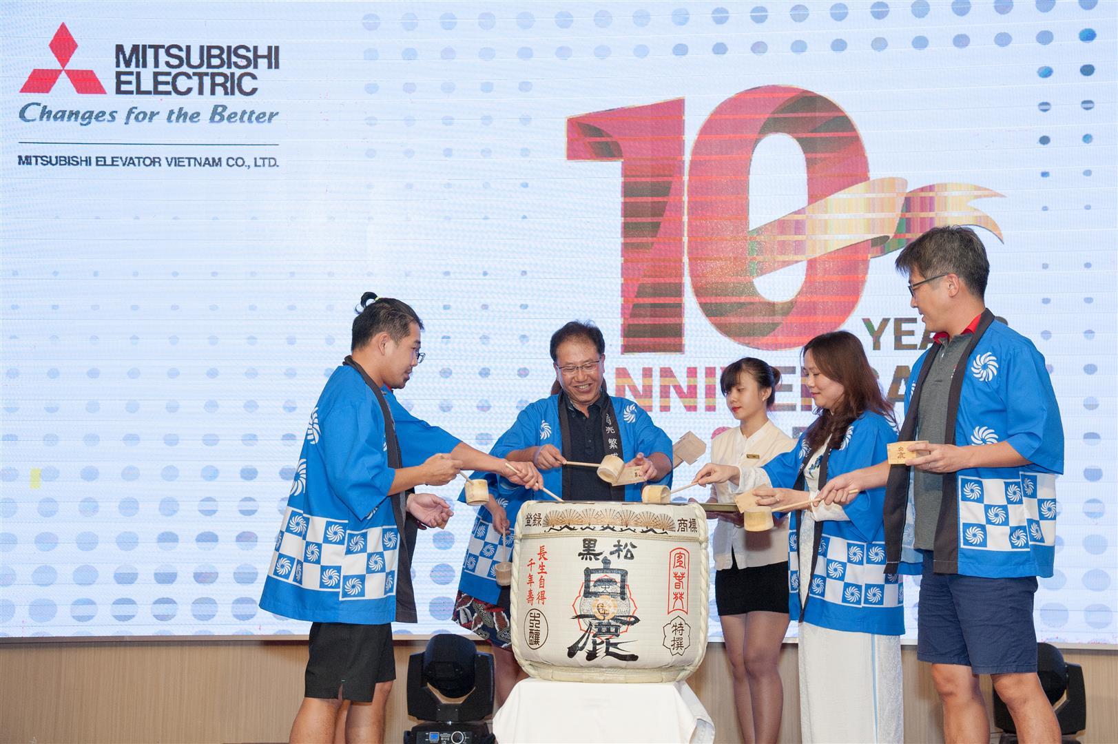 VMEC tổ chức Lễ kỷ niệm 10 năm thành lập Công ty tại biển đảo Phú Quốc