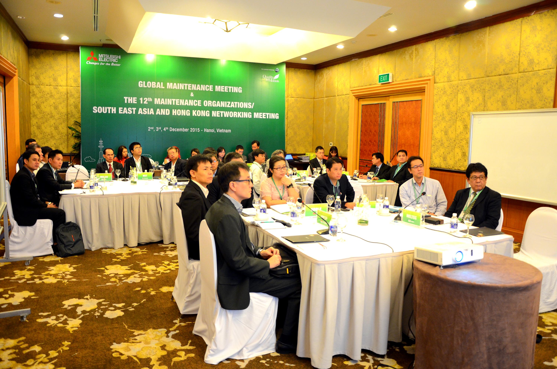 Mitsubishi tổ chức hội nghị thường niên khu vực Đông Nam Á và Hồng Kông về bảo trì thang máy