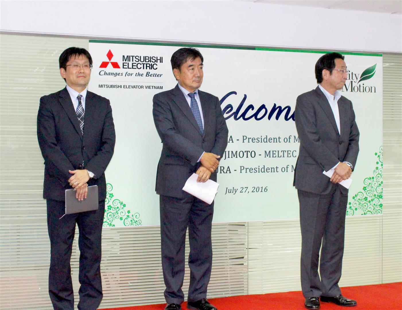 VMEC chào đón Tổng giám đốc MELTEC, MTPE thăm Việt Nam