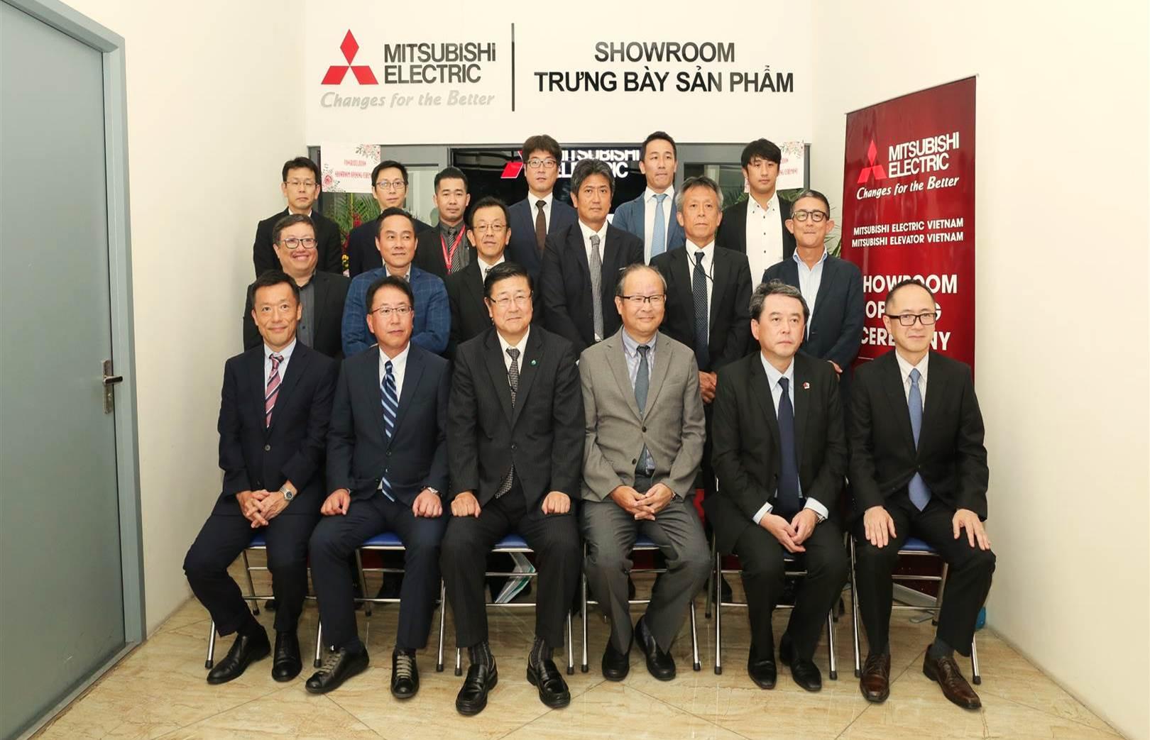 Khánh thành Phòng trưng bày sản phẩm Mitsubishi Electric tại Hà Nội