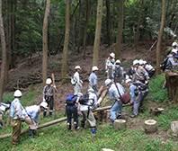 """Hoạt động bảo vệ đất rừng """"Satoyama"""" (Global Environmental Conservation)"""