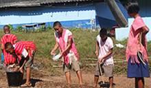 Nhân viên Mitsubishi Electric Thái Lan tổ chức hướng dẫn chăn nuôi trồng trọt và chăm lo bữa ăn cho học sinh tại các trường tiểu học (Social Welfare)
